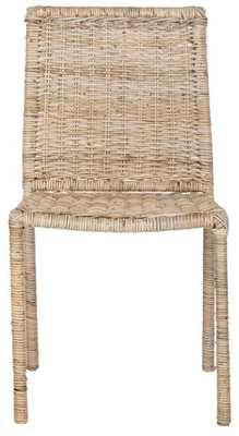 Makassar Side Chair - Grey - Arlo Home - Arlo Home
