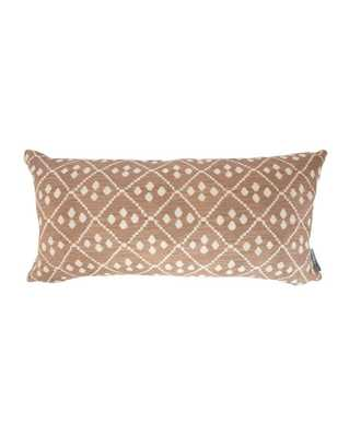 "WARWICK DIAMOND PILLOW COVER - 12""x24"" - McGee & Co."