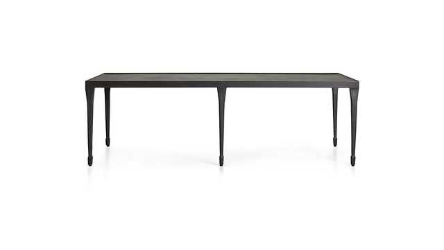 Silviano Rectangular Iron Coffee Table - Crate and Barrel