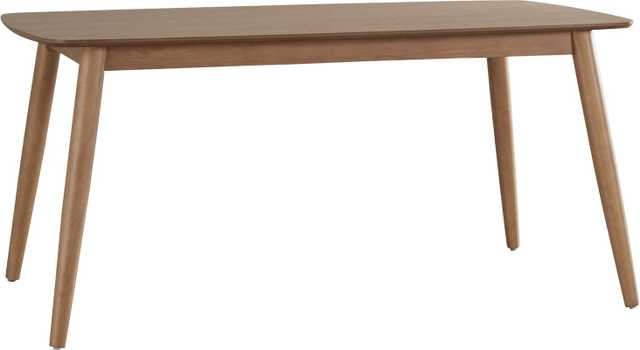 "Dundas 60"" Wood Dining Table - Wayfair"
