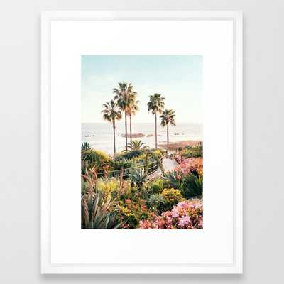 Laguna Beach Framed Art Print - Society6