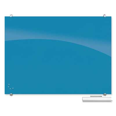 Visionary Best-Rite® Wall Mounted Magnetic Glass Board - Wayfair