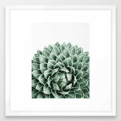 Succulent splendour Framed Art Print - Society6