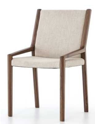 EDETTE DINING CHAIR, WALNUT OAK - Lulu and Georgia