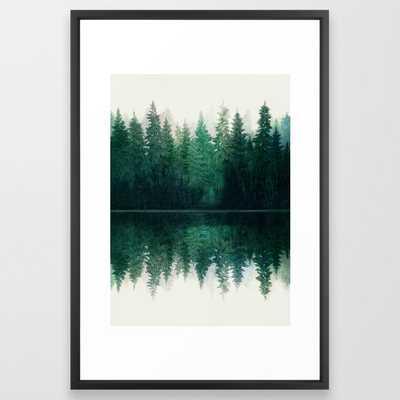 Reflection Framed Art Print - Society6