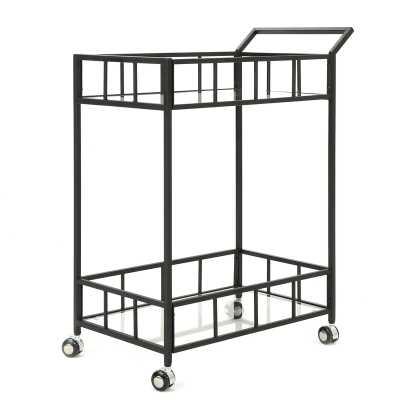 Beeler Bar Cart / Black - Wayfair