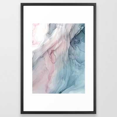 Calming Pastel Flow - Vector Black - Society6