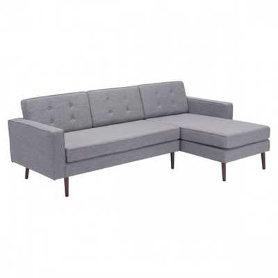 Puget Sectional Gray - Zuri Studios