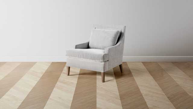 The Downing Chair and Ottoman - Maiden Home