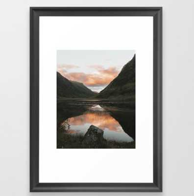 Time Is Precious - Landscape Photography Framed Art Print - Society6