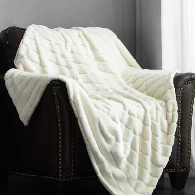 Preiss Faux Fur Blanket - Wayfair