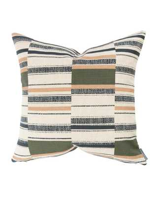 KEEGAN MIXED STRIPE PILLOW COVER - McGee & Co.