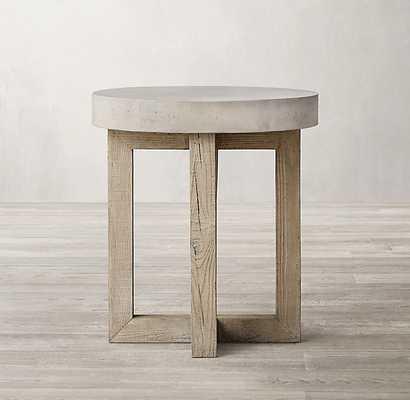Heston Round Side Table - RH