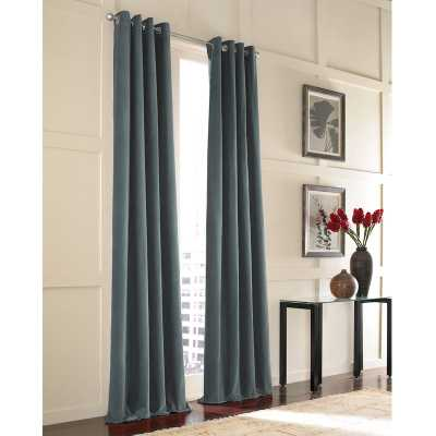 Messina Single Curtain Panel - Wayfair