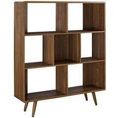 TRANSMIT BOOKCASE IN WALNUT - Modway Furniture