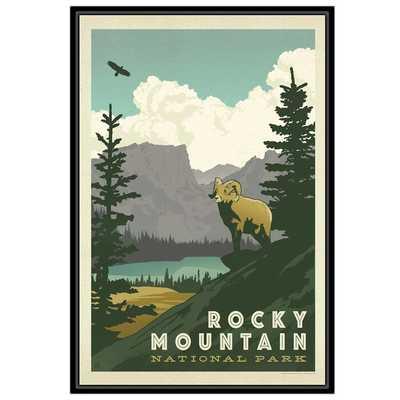 'Rocky Mountain' Vintage Advertisement - Floater Frame - Wayfair
