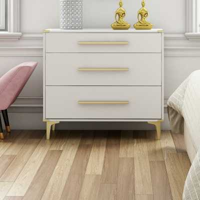 Karissa 3 Drawer Chest - Wayfair