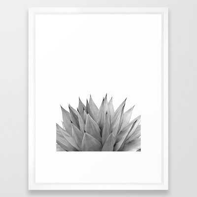Agave Vibes #10 #tropical #decor #art #society6 Framed Art Print - Society6