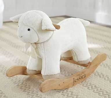 Lamb Plush Rocker - Pottery Barn Kids