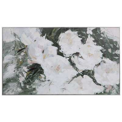 SWEETBAY MAGNOLIAS HAND PAINTED CANVAS - Hudsonhill Foundry