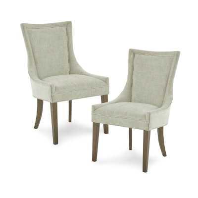 Ultra Upholstered Slide Chair (Set of 2) - Wayfair