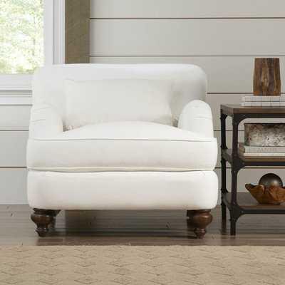Durham Armchair--Oakley Graphite - Wayfair