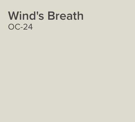 Wind's Breath OC-24 Benjamin Moore - Benjamin Moore
