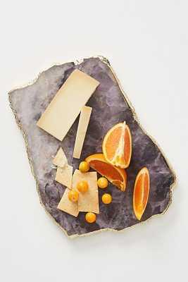 Agate Cheese Board, Amethyst - Anthropologie