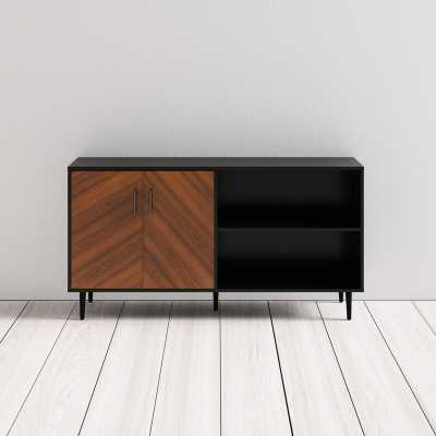 "Keiko TV Stand for TVs up to 65"" - Solid Black - AllModern"