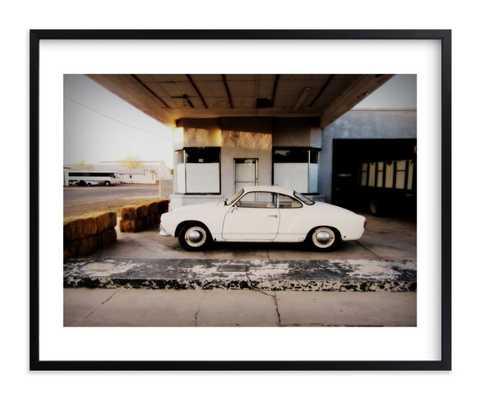 "time stood still - 20""x16"" - Classic Rich Black Wood Frame - White Border - Minted"