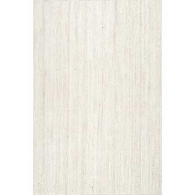 Burrillville Hand-Tufted Off-White Area Rug - Wayfair