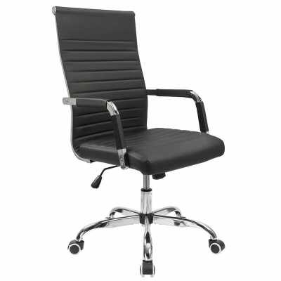 Renda Mid-Back Ribbed Conference Chair - Wayfair