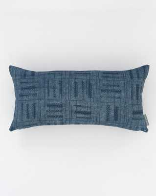 "AMORET PILLOW WITHOUT INSERT, 12"" x 24"" - McGee & Co."