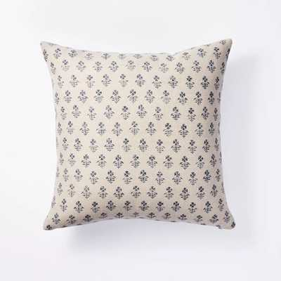 Floral Block Print Throw Pillow - Threshold™ designed with Studio McGee - Target