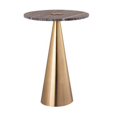 Addyson Marble Side Table - Maren Home