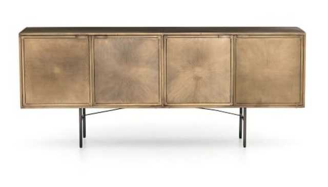 ARGONAUT ETCHED METAL BUFFET - Pottery Barn