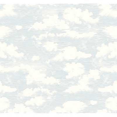 "Indio Cloud Cover 27' L x 27"" W Wallpaper Roll - Wayfair"