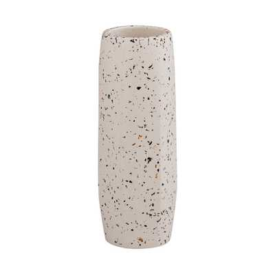 Maci White Vase - Medium Skinny - Maren Home