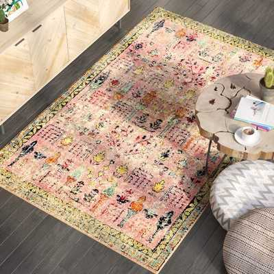 Piland Pink Area Rug - Wayfair