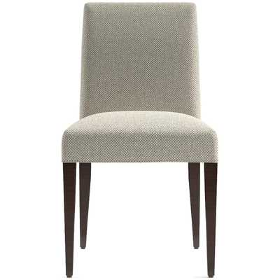 Miles Upholstered Dining Chair / Tobias, Sand - Crate and Barrel