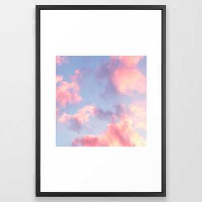Whimsical Sky Framed Art Print - Society6