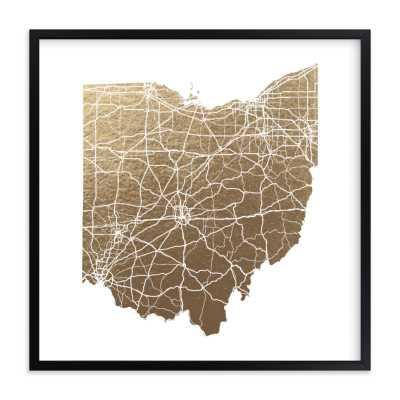 ohio map - Minted