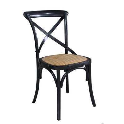 Gracie Oaks Remus Wood Dining Chairs, Bamboo And Birch Wood - Wayfair