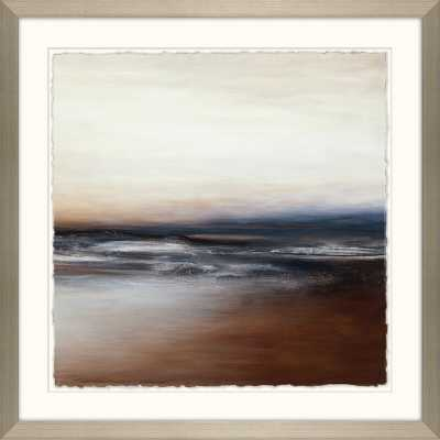 'Small Siena Coast I' - Picture Frame Painting Print on Paper - Perigold
