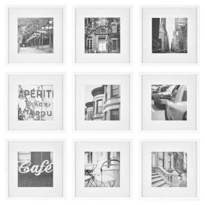 9 Piece Avenale Picture Frame Set - Wayfair