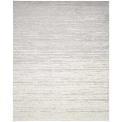 Adirondack Ivory/Silver 6' x 9' Area Rug - Home Depot