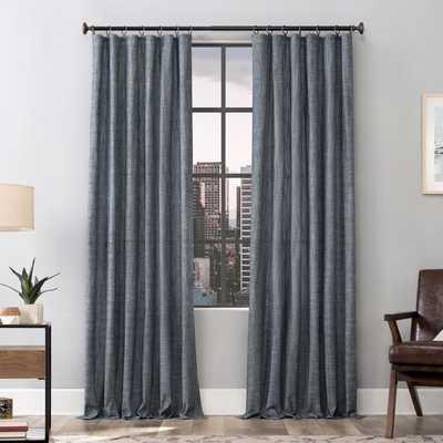 Delton 100% Cotton Solid Color Semi-Sheer Grommet Single Curtain Panel - Wayfair