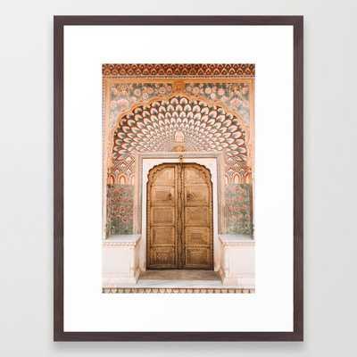 Peacock Gate at City Palace Jaipur in Rajasthan, India   Travel Photography   Framed Art Print - Society6