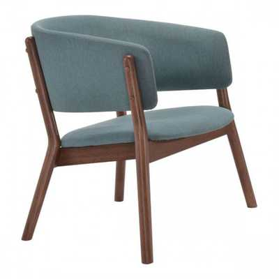 Chapel Lounge Chair Blue, Set of 2 - Zuri Studios
