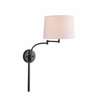 Anneliese 1-Light Plug-in Swing Arm - Wayfair